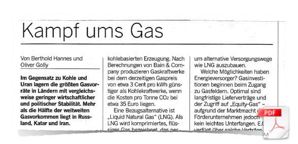 Kampf ums Gas